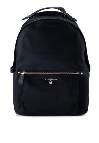 Michael Kors black Kelsey Nylon L Backpack (zt) 2B380AC6B9C6E3GS_1
