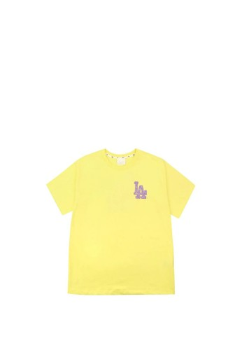 MLB green OVERFIT T-SHIRT LA DODGERS YELLOW 7C43EAAA4EB5F6GS_1
