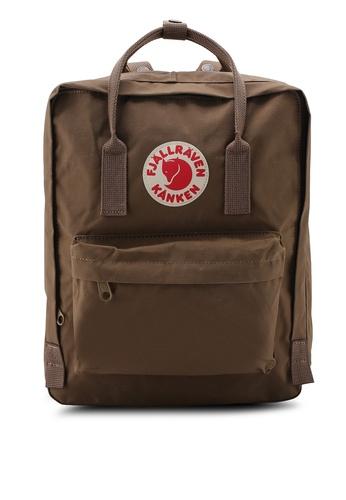 Fjallraven Kanken brown Sand Kanken Classic Backpack FJ859AC56LBZSG_1