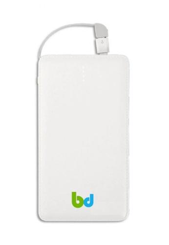 B&D Tech white Ultra Smart 18600mAh Slim and Pocket Style Powerbank 243FAAC8D30A10GS_1