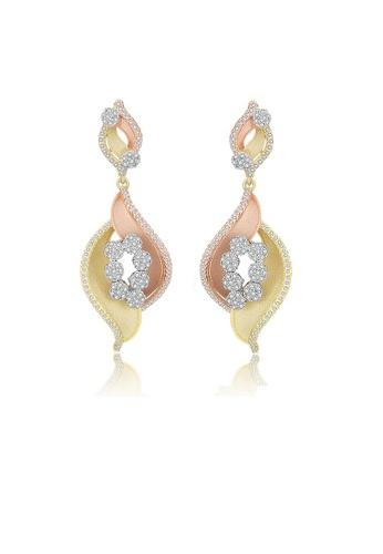 ADORA Triple Gold Earrings 57E16ACBA9D809GS_1