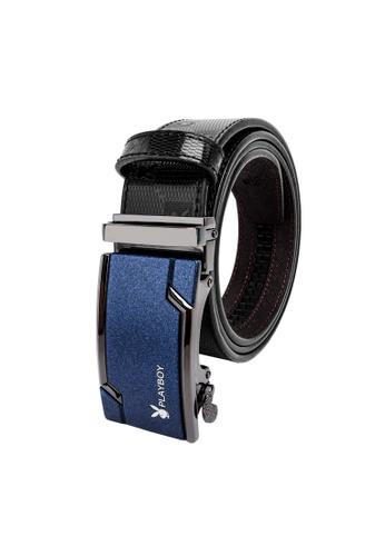 Playboy black Playboy 35mm Automatic Bukle Belt BDF69ACDF7AB6FGS_1