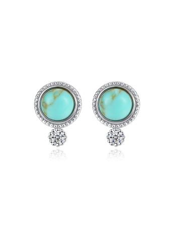 SUNRAIS silver High-end Silver S925 silver fashion earrings E2CD5ACB9A221FGS_1