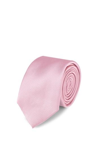 Burton Menswear London pink Baby Pink Tie Set 48E60AC160DD3CGS_1