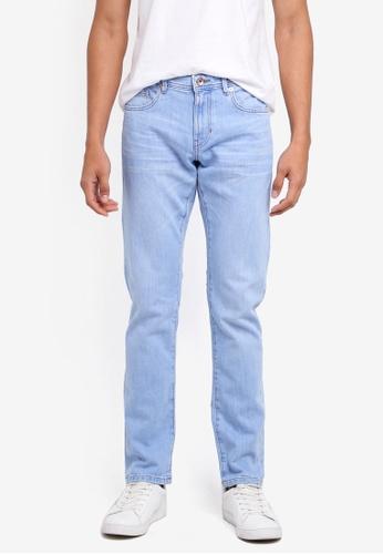 ESPRIT 藍色 修身牛仔褲 05BE0AAC105B5FGS_1