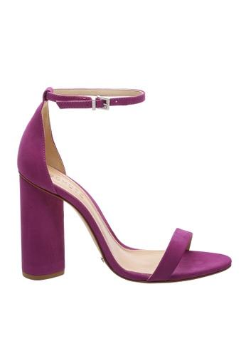 SCHUTZ 紫色 SCHUTZ 搭帶高跟涼鞋 - CURRENT (葡萄紅色) 831E1SHF861304GS_1