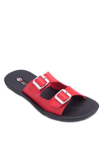 雙扣環帶拖鞋, 鞋,esprit 價位 拖鞋