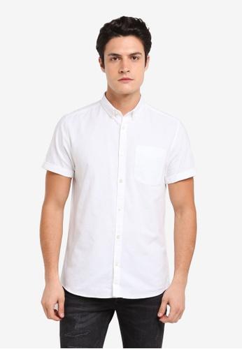 River Island white White Oxford Shirt 224DDAA1B89430GS_1
