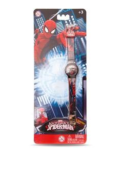 Ultimate Spider-Man Digital Boys Plastic Strap Watch SPMRJ6A-16