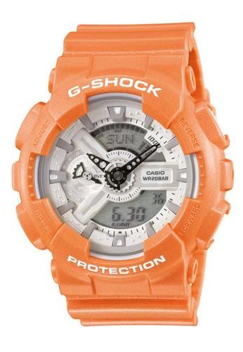 CASIO orange Casio G-Shock White and Orange Resin Watch CE9FFAC4366025GS_1