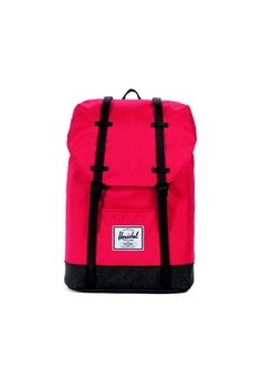 b90e6344041a Herschel pink Herschel Retreat - Os Barbados Cherry X Black X 19.5L  CCB0BAC7891550GS 1