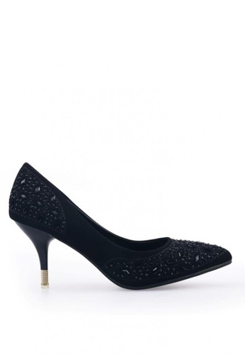 Clarette Heels Cordelia Black