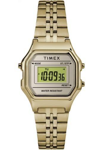 TIMEX gold Timex Digital Mini 27mm TW2T48400 544D7AC60FEAE4GS_1