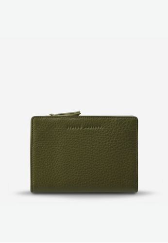 Status Anxiety green Status Anxiety Insurgency Wallet - Khaki 6A31DACC21EA61GS_1