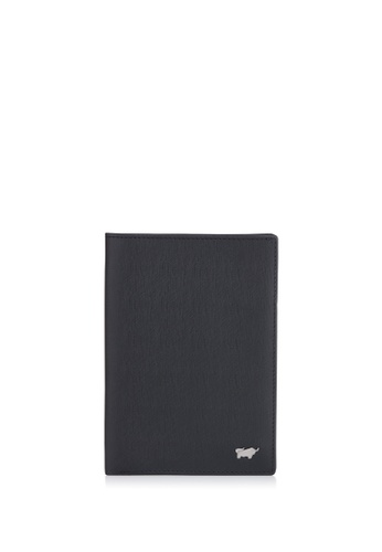 Braun Buffel black Homme-M Passport Holder with Notes Compartment 4396EAC2CC1858GS_1