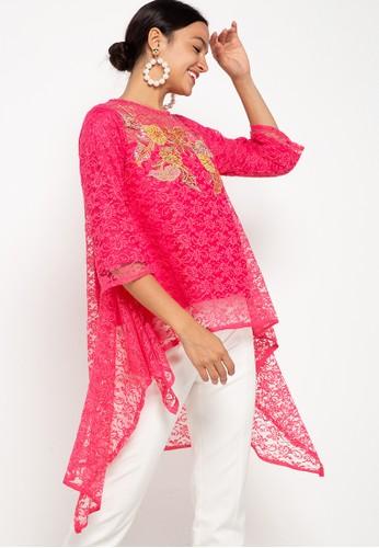 Draisal Batik pink Nameera Lace Batik 4F471AAA70C34CGS_1