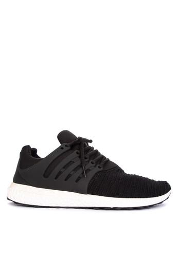 Mendrez black Paulo Sneakers D405ESHFAC588AGS_1