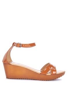 8e8d5b192fdc H2Ocean beige Dottie Ankle Strap Wedge Sandals A712CSH23BD928GS 1