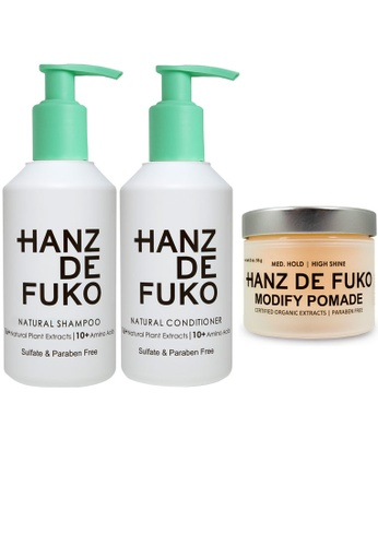 Hanz de Fuko Hanz de Fuko Hair Care and Modify Pomade Set HA369BE39VCQSG_1