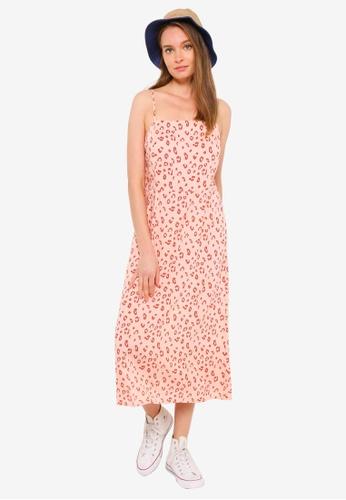 OBEY pink Leo Dress 87E50AA2E2ADE3GS_1