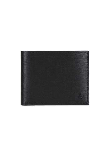 Goldlion blue Goldlion Men Leather Wallet (8 Cards Slot, RFID Protection) - Black 9545FAC5D41A79GS_1
