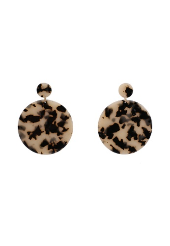 Rubi multi Resin Round Statement Earrings 740D1ACCEF7B19GS_1