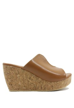 Dr. Kevin Women Wedges Sandals 27369 - Tan