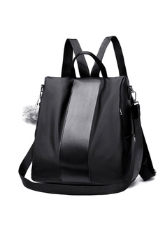 Lucky JX black Korean Denisse Squared Waterproof Long Strapped Mini Backpack  97361AC6A77345GS 1 3e557cb7c3a5d