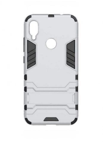 MobileHub silver Xiaomi Redmi Note 7 Hybrid Defender Case AB3FAACB57F657GS_1