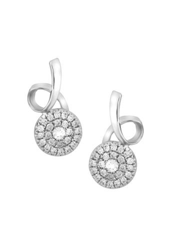 TOMEI white TOMEI Earrings, Diamond White Gold 375 (E1191) C67CAACE5B35ABGS_1