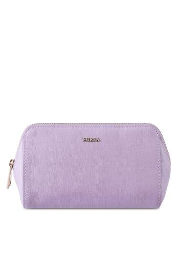 Furla purple Electra M Cosmetic Case Set 43632AC62263BEGS_1