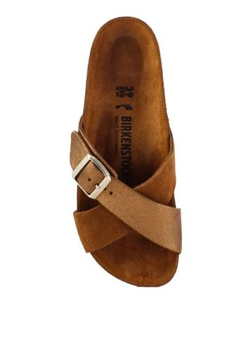 92c0105c4970 Shop Birkenstock Siena Exquisite Suede Leather Sandals Online on ZALORA  Philippines