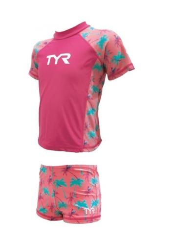 TYR pink TYR Larelle Girl Suit 4B1D7KA0EEFB6BGS_1