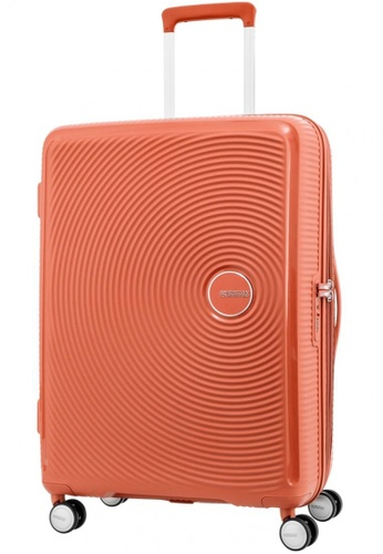 American Tourister orange American Tourister Curio Spinner 69/25 Exp TSA 10054AC2DD3266GS_1