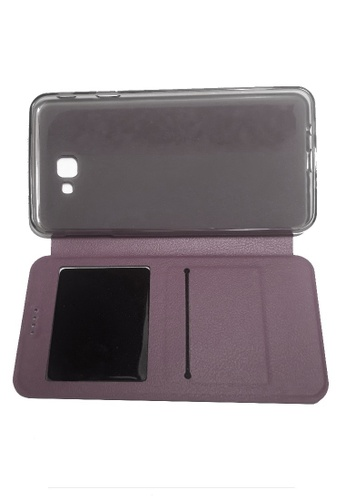 cd2a58598e7 Shop MobileHub Leather Flip Cover for Samsung Galaxy J7 Prime Online on  ZALORA Philippines