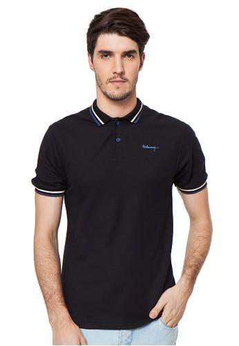 SW Classic Polo Shirt Black