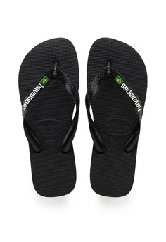 55d251259bf Havaianas Havaianas Brasil Logo Black S  45.00. Available in several sizes