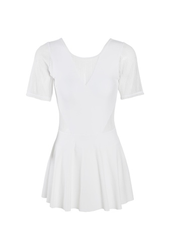 Its Me white Sexy Gauze One-Piece Swimsuit E42FEUS5459749GS_1