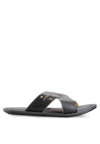 MARC & STUART Shoes black Sandal Hector 2 MA456SH0UOQWID_1