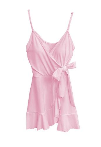Twenty Eight Shoes pink VANSA  One-Piece Swimsuit  VCW-Sw10 3C958US9CDB7B9GS_1