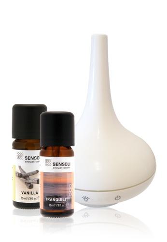 Sensoli Aromatherapy SENSOLI Aromatherapy Premium Bundle - 2 Essential Oils & 1 Diffuser DB2CDHL5D2757DGS_1