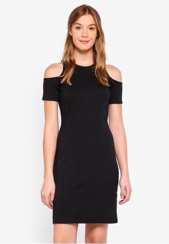 ESPRIT black Knitted Mini Dress 090E1AA8975535GS_1