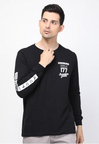 17seven Original black Longsleeve 0023-JAPANESE 7EB56AA4D4A588GS_1