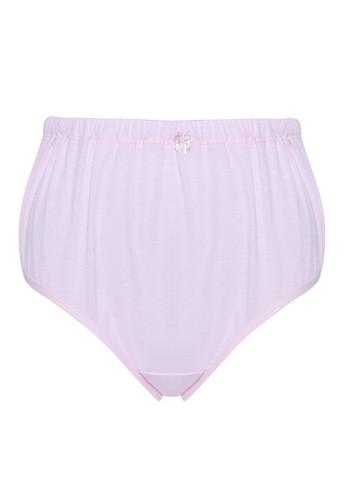 TULIP pink Tulip Midi Panty Maternity Masa Kehamilan - Pink 5C74EUS47F1BF1GS_1
