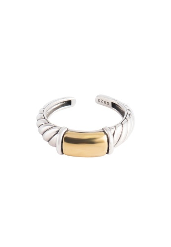 A-Excellence silver Premium S925 Sliver Geometric Ring 1585BAC4B44C16GS_1