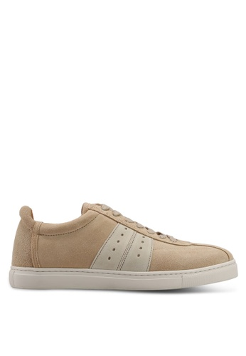 Selected Homme brown Duran Suede Sneakers C07E0SHE17D4C7GS_1