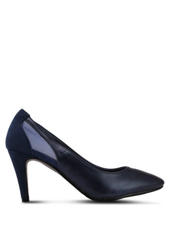 DMK blue Back Mesh Pump Heels 2BD39SH97B3FE1GS_1