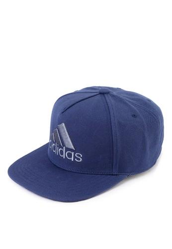 618d0e8f1ef86 adidas blue adidas h90 logo cap AD372AC0SUIPMY 1