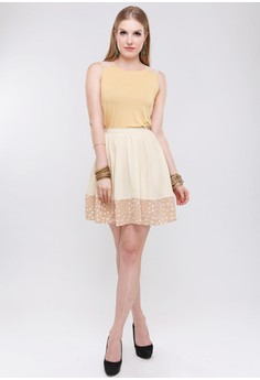 Eiffel Faux Lace Skirt