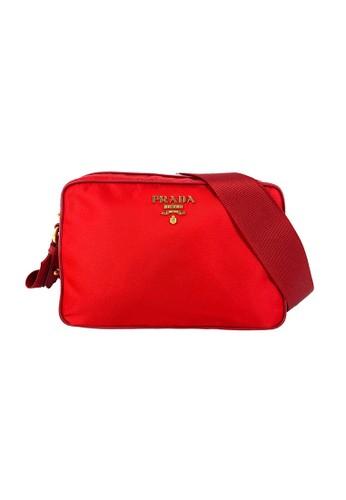 Prada red Prada 1BH089 Bandoliera Tessuto Soft FT Camera Rosso 26CEDACD52BD75GS_1
